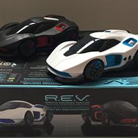 #本站首晒#跟上智能时代的遥控玩具-WowWee遥控对战赛车 R.E.V.