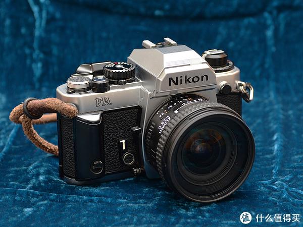#首晒# 来自1983年的经典:Nikon 尼康 FA 胶片单反相机