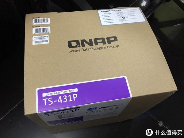 功能强大的家庭存储中心!QNAP 威联通TS-431P 开箱