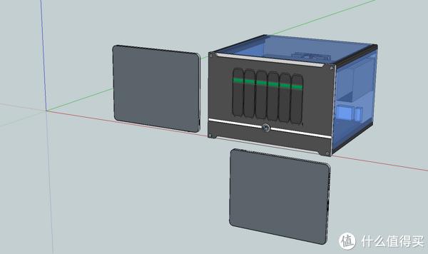 家庭影院养成计划 篇四:爆改JONSBO 乔思伯V6——我的6盘位热拔插NAS&HTPC整体解决方案