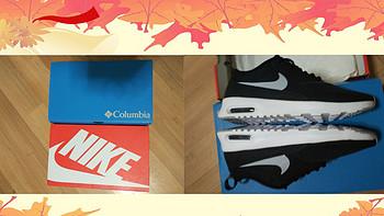 Nike Air max 女士运动鞋&哥伦比亚 男士凉鞋 开箱