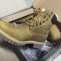 御寒利器——Timberland 6 inch 带绒大黄靴