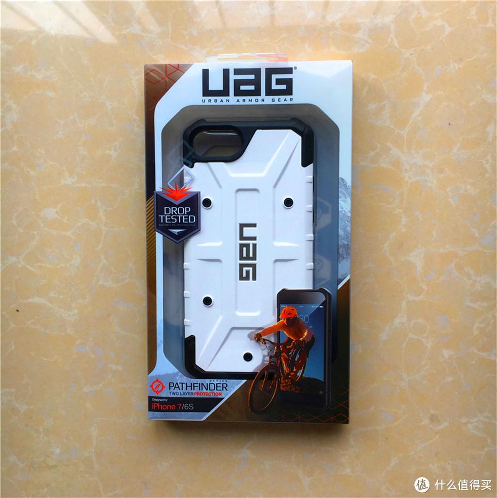 #本站首晒# UAG iPhone7防摔手机壳保护套探险者系列 白色