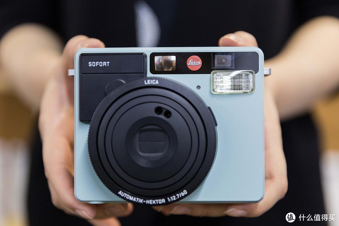 #本站首晒#Leica 徕卡 SOFORT 拍立得相机 薄荷绿 开箱