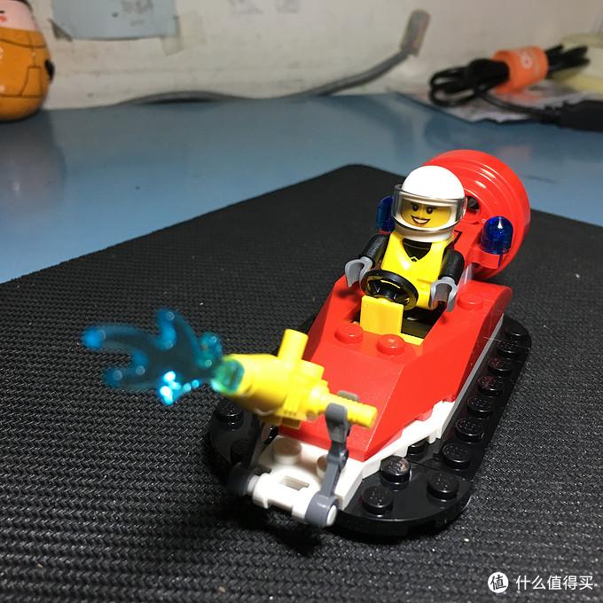#原创新人# LEGO 乐高 60106 消防入门 & 60107云梯消防车