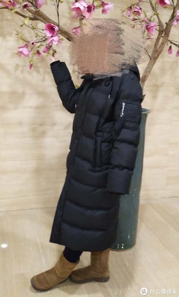 #原创新人#东北女汉的冬季之选——韩国 LAP 超长羽绒服