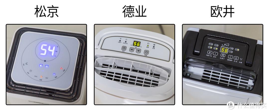 Deye 德业、Eurgeen 欧井、SENSEGENE 松京——三台除湿机大PK