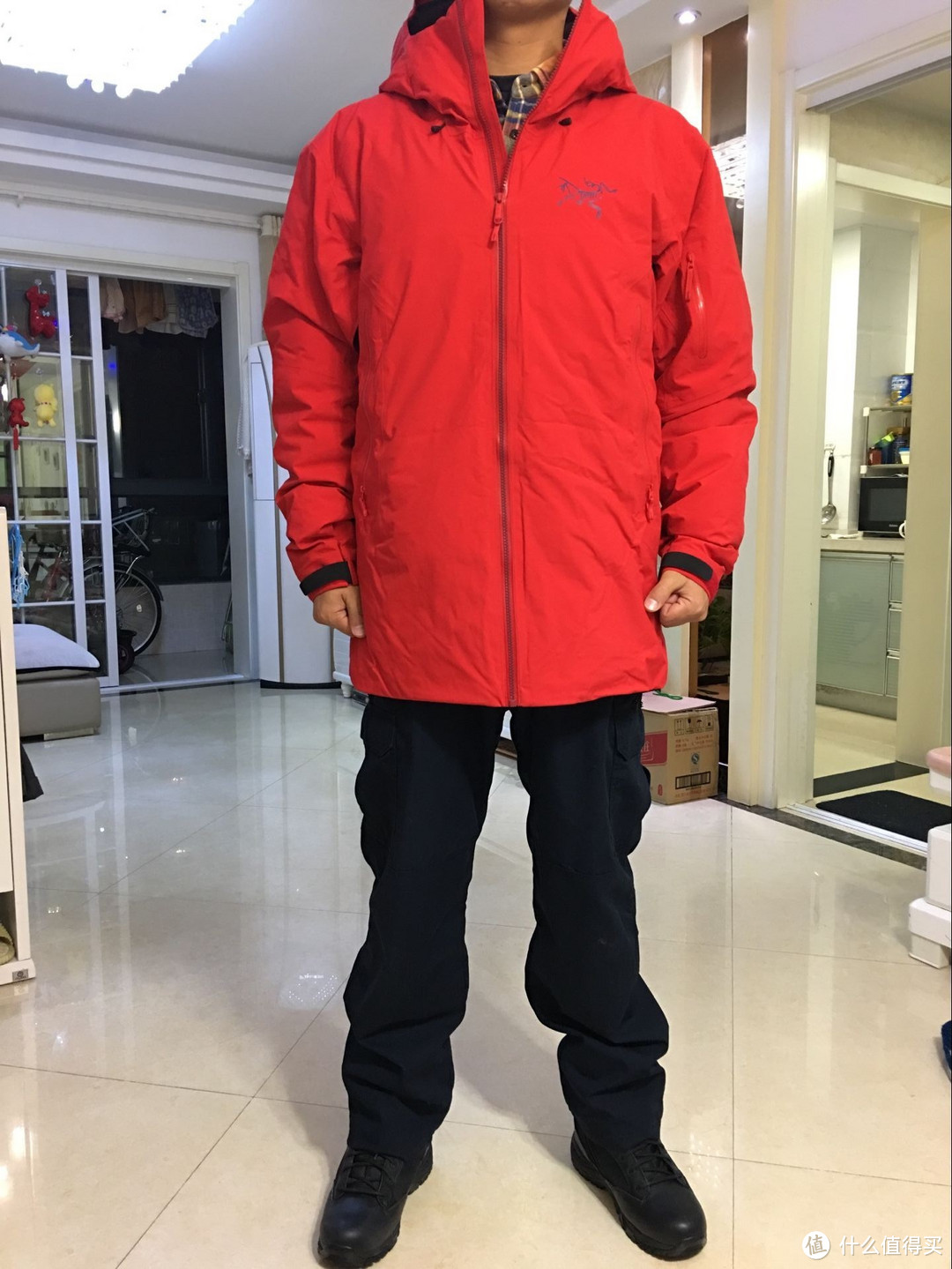 ARC'TERYX 始祖鸟 Fissile Jacket 旗舰硬壳滑雪羽绒服 晒单(内有彩蛋)
