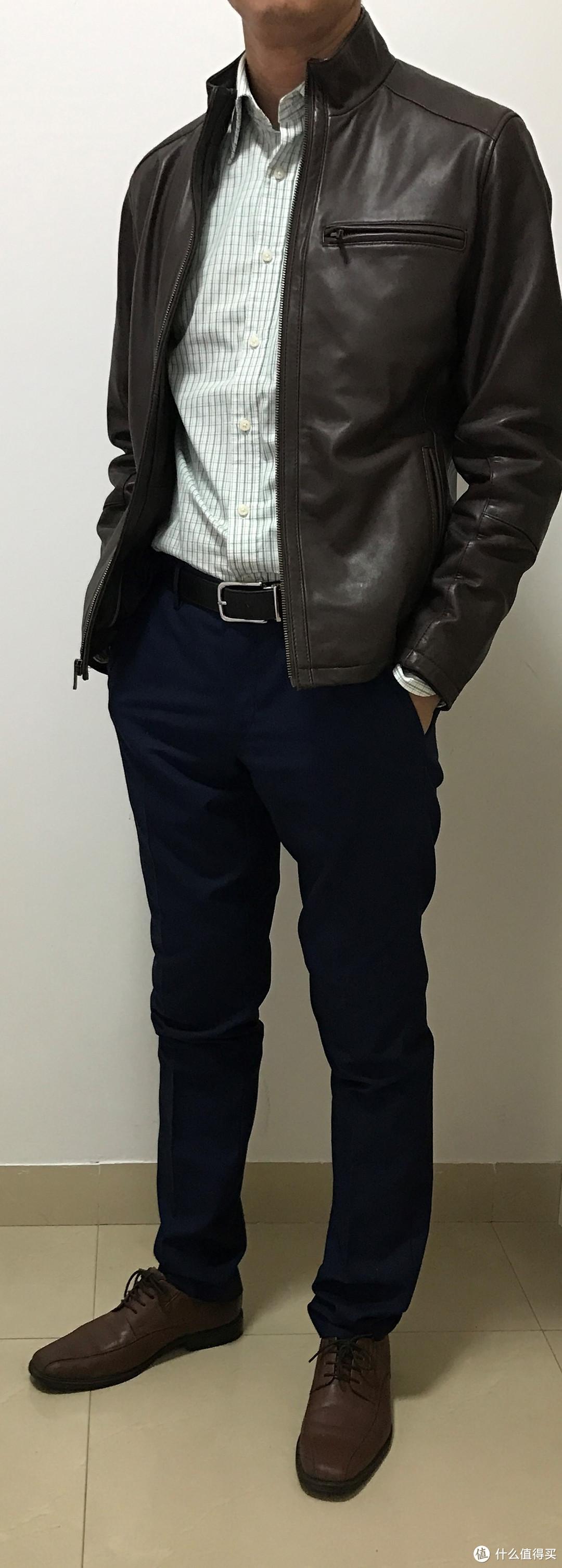 Boss Orange  Men's Jofynn Jacket  雨果 男士机车皮衣皮夹克 开箱以及上身照