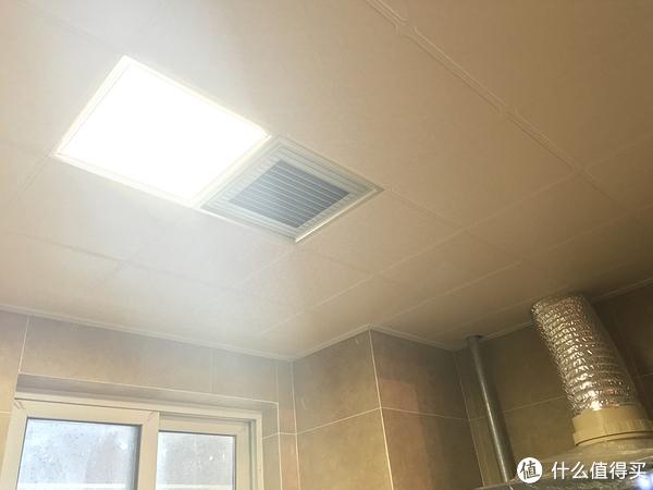 厨房集成吊顶加凉霸,其实就是个小电扇