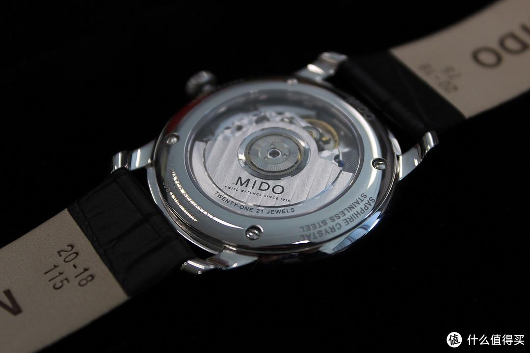 MIDO 美度 Baroncelli II 贝伦赛丽系列 M027.407.16.010.00 男士机械腕表