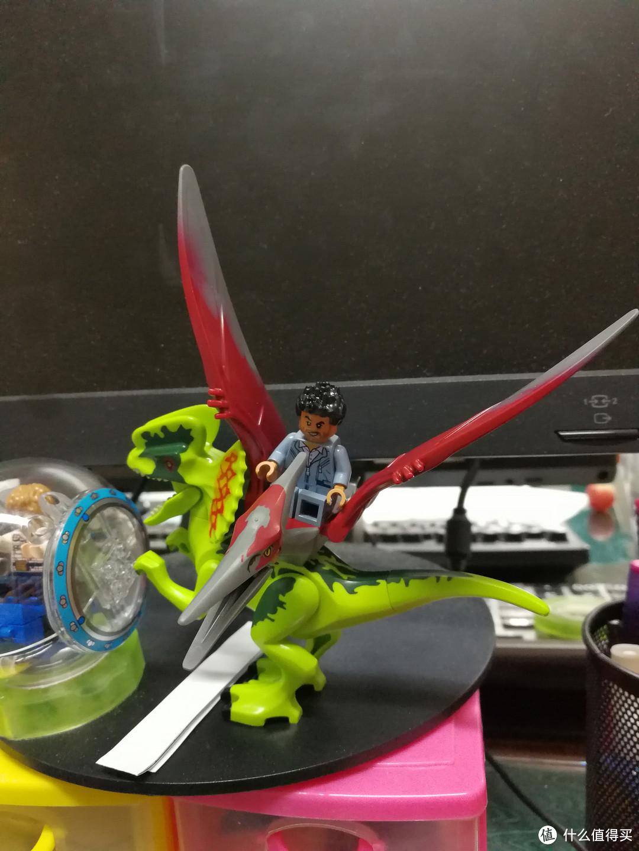 LEGO 乐高 侏罗纪世界 75915 翼龙追捕 开箱