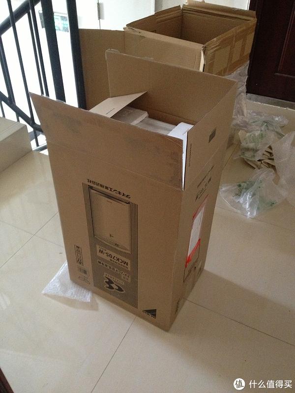 对抗雾霾时代,日淘 DAIKIN 大金 MCK70S-W 空气净化器
