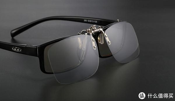 夹片式偏振光眼镜