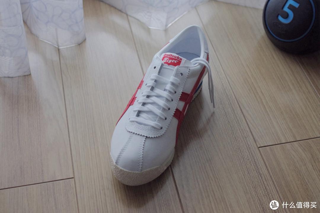 Onitsuka Tiger鬼塚虎 TIGER CORSAIR 内增高 小白鞋