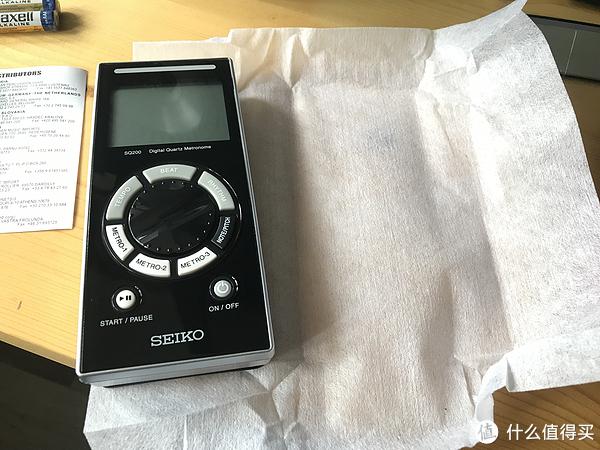 SEIKO 精工 SQ-200电子节拍器+KORG调音器开箱