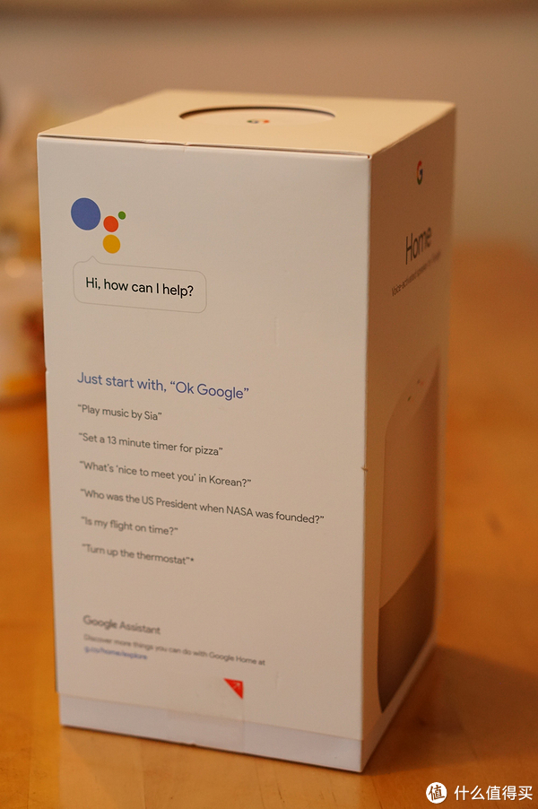 #本站首晒#Google Home 智能语音助手 开箱晒单