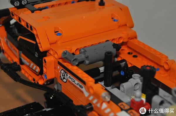 单反毁一生,LEGO穷三代 篇八十七:LEGO 乐高 Technic 机械组系列 42038 极地工程卡车