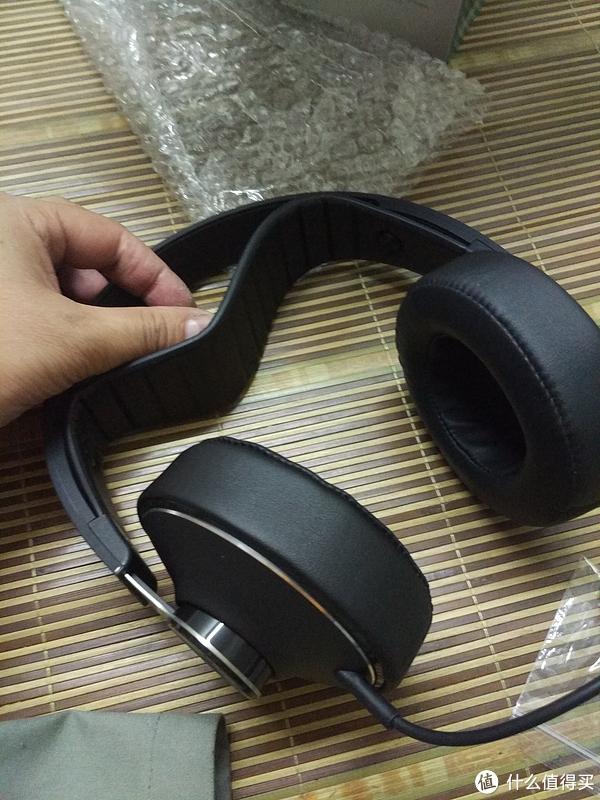 Philips 飞利浦 SHP8000/10 HiRes高解析HIFI发烧监听头戴式耳机开箱