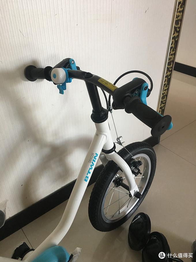 给孩子的六一礼物:DECATHLON 迪卡侬 14寸 儿童自行车