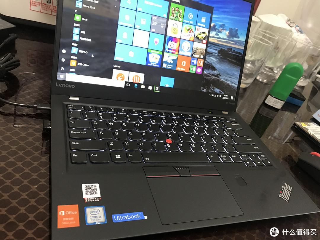 ThinkPad X1 Carbon 2017 14英寸轻薄笔记本 开箱评测:用不坏的TP,没有创新的联想