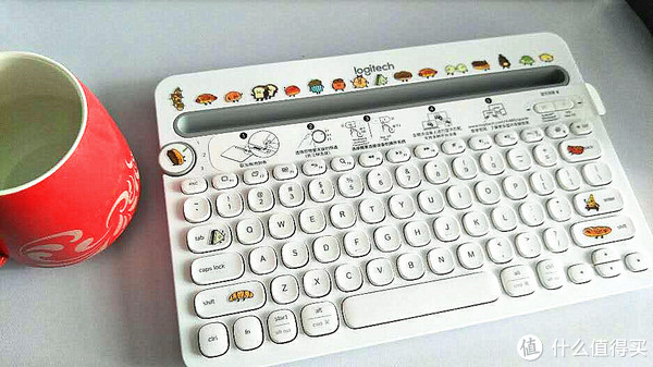 #原创新人#开箱晒物 — 罗技 K480MULTI-DEVICE 蓝牙键盘 开箱晒物