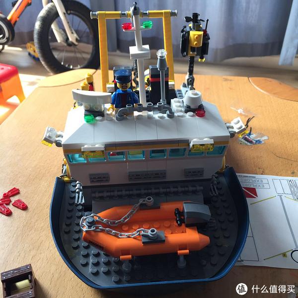 熊孩子的乐高之路 — 2017年春节礼物之 LEGO 乐高 城市系列 60095 深海探险勘探船