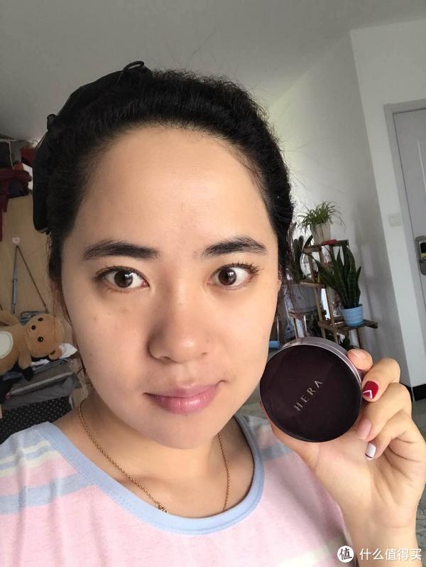 一粉搞定皮肤多种问题+防晒:韩国 HERA 赫拉气垫BB霜