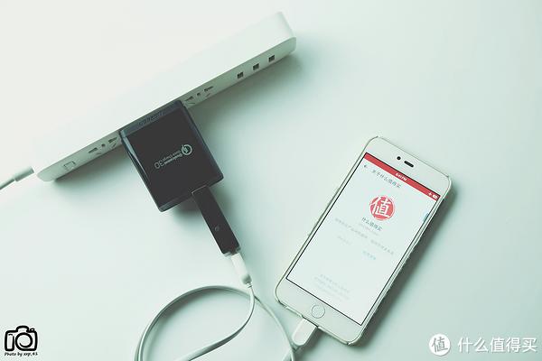 #本站首晒#绿联 双口USB 高通QC3.0 30W快速充电器