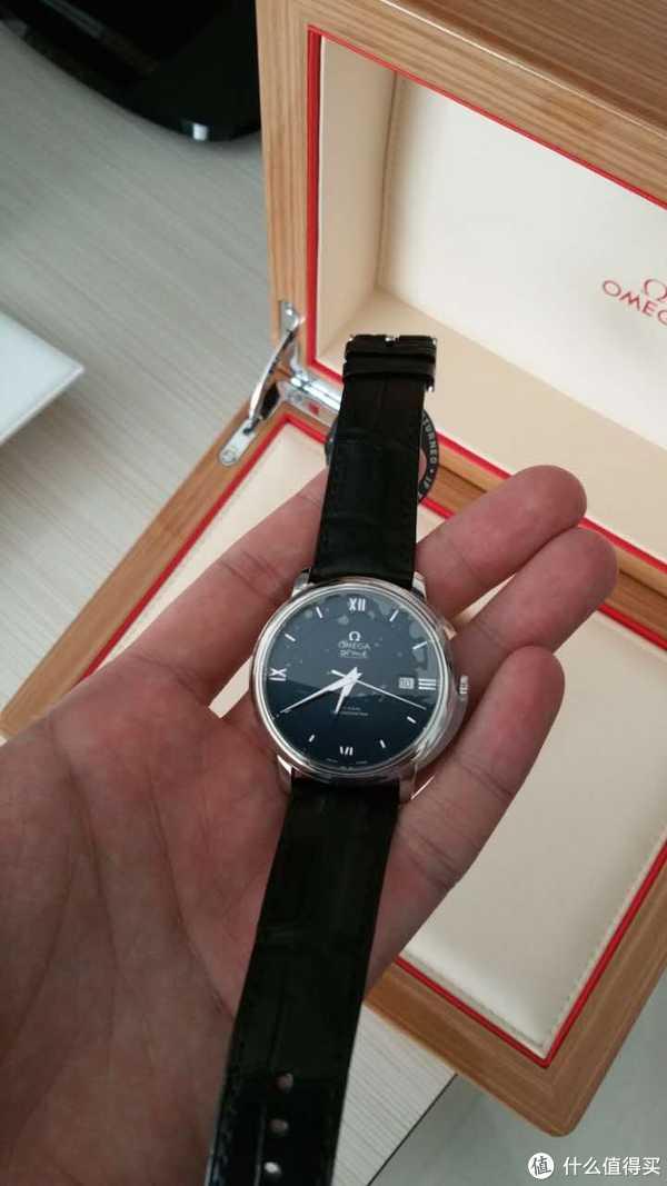 简单晒下刚到手的 OMEGA 欧米茄 碟飞典雅 手表
