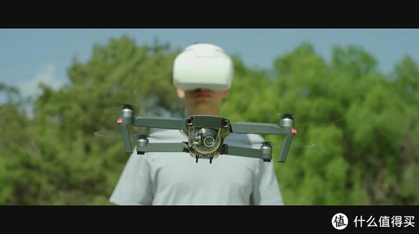 DJI 大疆 无人机 Goggles飞行眼镜 不完全开箱及外接视频测试