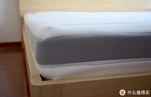 #本站首晒# 腰不好就得睡硬床垫?这跟屁股大不大还有关!— 8H 乳胶弹簧床垫M3 开箱简评