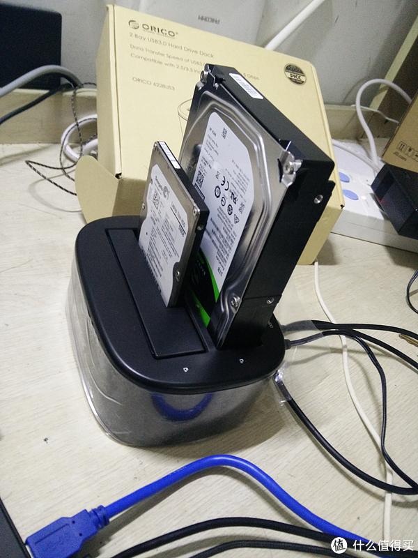 #原创新人#ORICO 奥睿科 6228US3 双盘位底座 开箱及简单测评