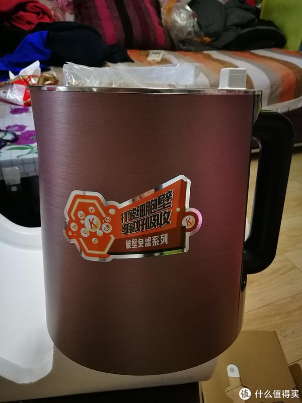 #本站首晒# 再见渣难?一直都在只是更小了 — 记 Joyoung 九阳 破壁免滤P3豆浆机 开箱