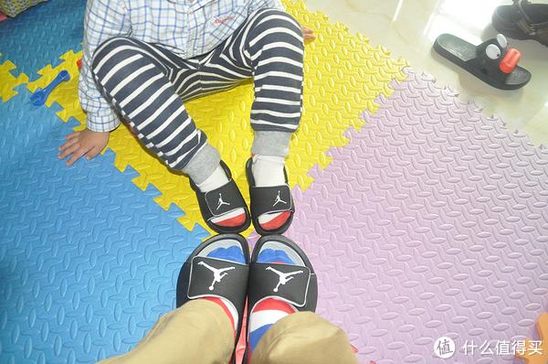 上阵父子兵—Jordan Hydro 6 幼童款及男款拖鞋