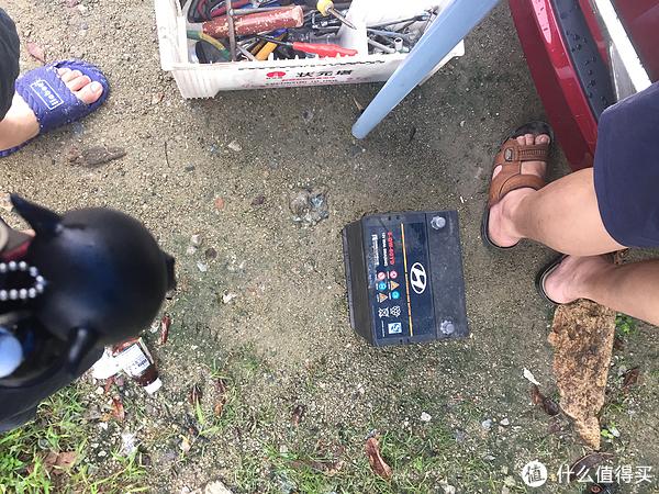 换掉不耐用的原车蓄电池,更换全新瓦尔塔