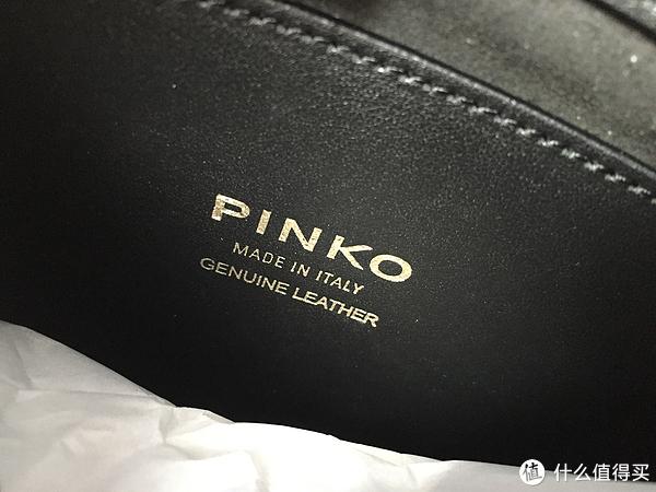 #原创新人# 燕子包首秀 — PINKO Love系列 Simply 女士斜挎包