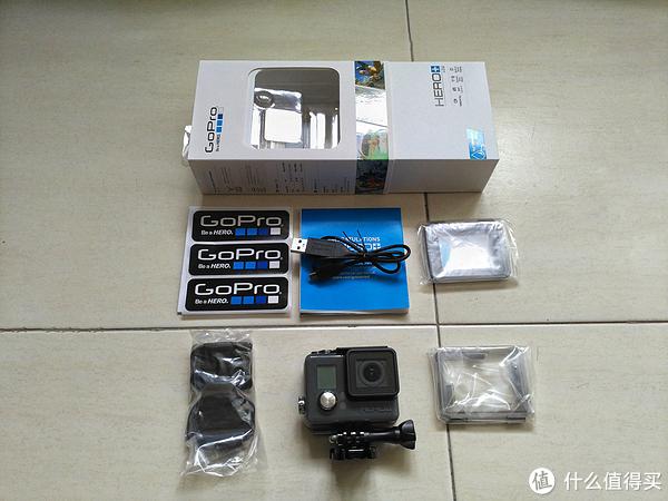 GoPro HERO+LCD 运动相机 开箱晒单