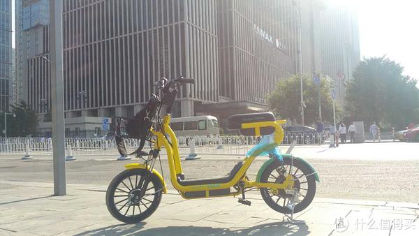 电动共享单车真的来了。。。