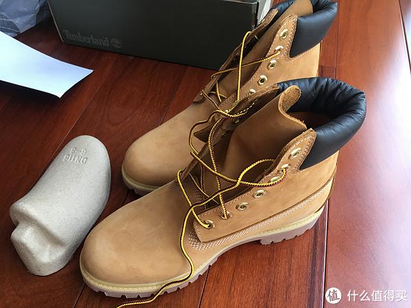 """男人就要""""鞋""""不胜正 篇一:踢不烂的大黄靴 Timberland 添柏岚10061 开箱晒单"""