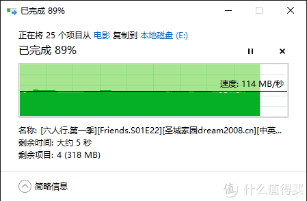 USB3.0拷贝速度