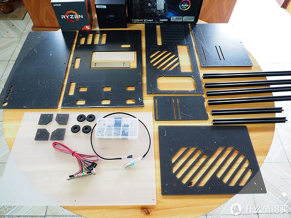 DIY必经之路—小、省、炫、透、简的亚克力机箱外加幽灵MAX开箱