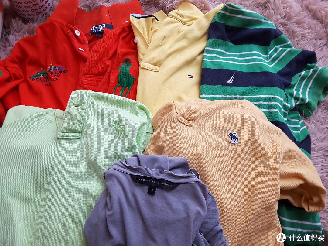 闷骚的男士短袖T恤对比:AF、AE、NAUTICA、POLO Ralph Lauren、TOMMY和John Varvatos