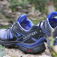 秋高气爽时,穿上全面防护、下坡控制的Salomon X ULTRA 3 GTX W 登山徒步鞋去大自然中浪吧