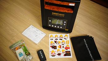 我在北方的寒夜里四季如春:edpenpure宜盾普GEN5取暖器开箱、使用体验报告