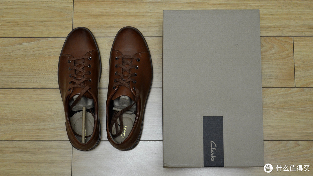 Clarks 其乐 Stanway Lace 男士休闲鞋 开箱