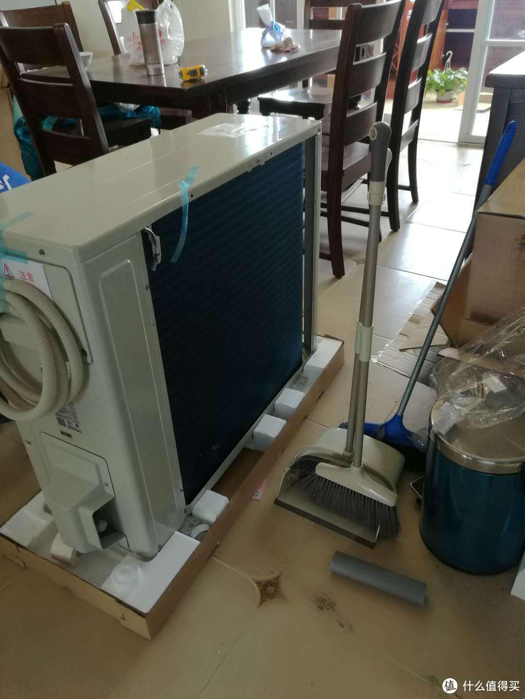 DAIKIN 大金 帕蒂能F系列 FVXF172RC-W 柜式冷暖空调,一台本不该出现的空调