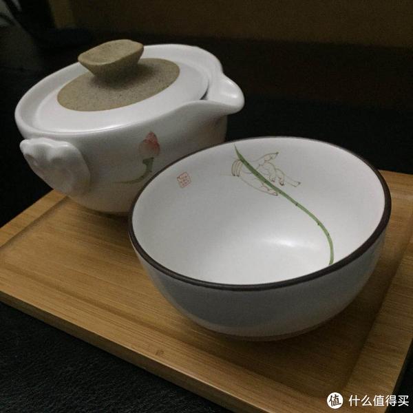 一壶二杯便携旅行茶具套装开箱