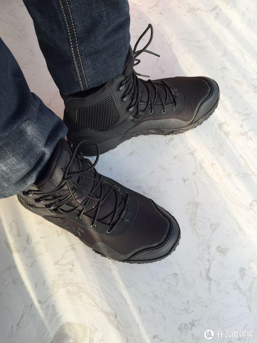 #原创新人#淘金V计划#安德玛 Under Armour1250234男式 ua valsetz rts 战术靴子跑步鞋