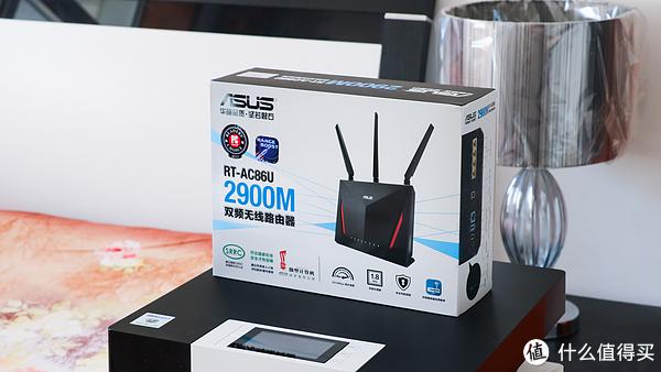 ASUS 华硕 RT-AC86U 双频千兆无线路由器 开箱评测